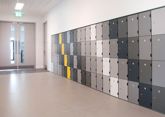 Architectural ShockProof Locker Designs