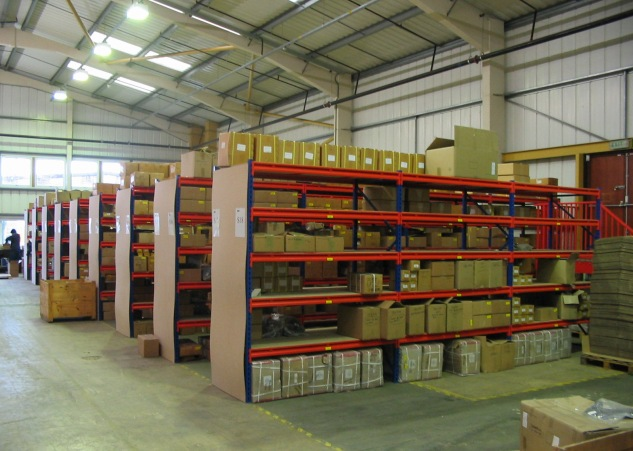 Up to 1200kg load shelving