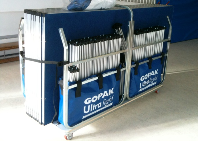 Compact mobile storage