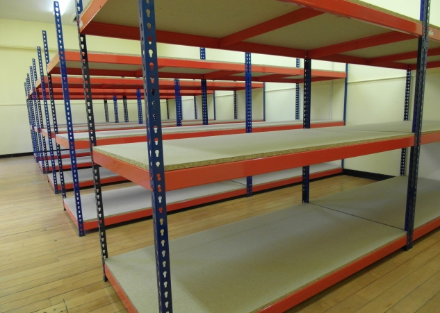 Cost effective archive racking