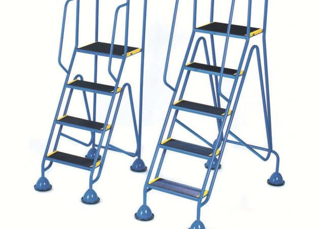 Mobile Steps, Weight Reactive, Dome Inset Castors