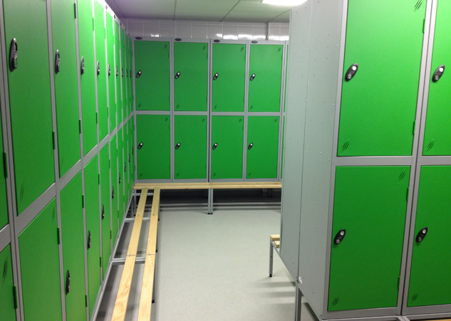 Changing Room Lockers & Benches