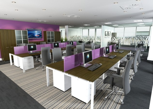 Open Plan Office Solutions