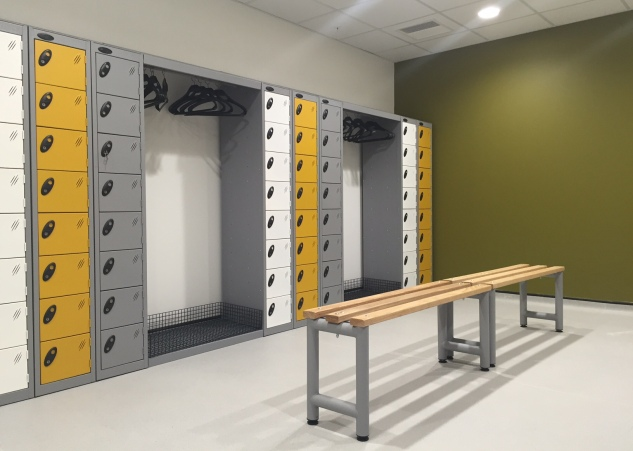 Cloakroom hanging units