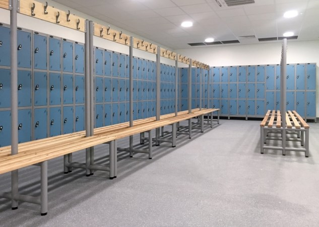 Superior Storage Solutions Commercial Solutions Cloakroom