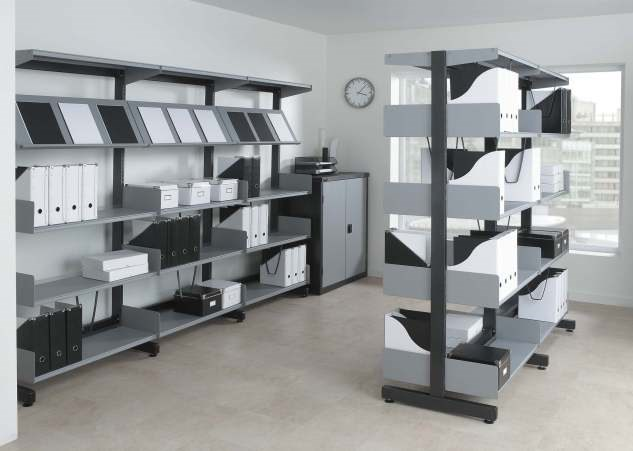 Stylish and versatile shelving