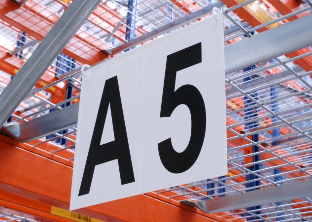 Warehouse Aisle Identification