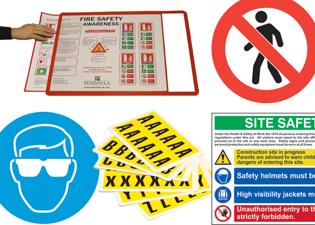 Industrial Signs-&-Labels for sites and warehouses