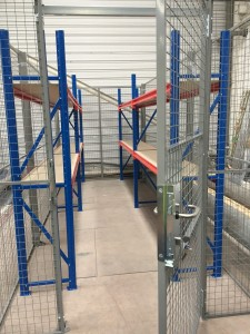 Cage with Shelving